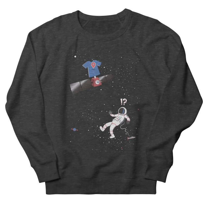 Lost in Meta Space Women's Sweatshirt by ikado's Artist Shop