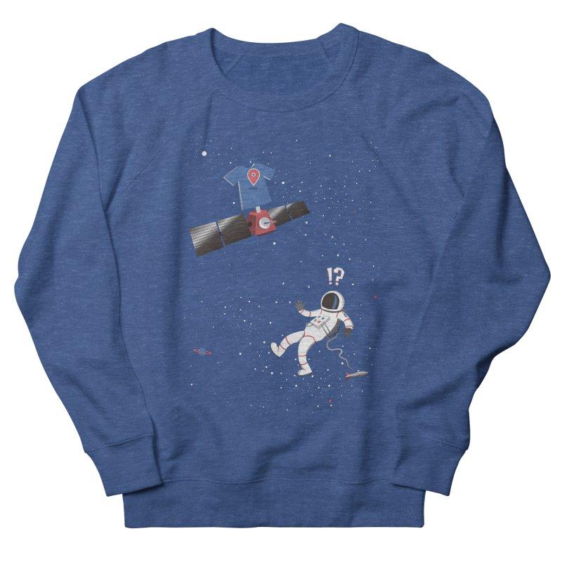 Lost in Meta Space Women's French Terry Sweatshirt by ikado's Artist Shop