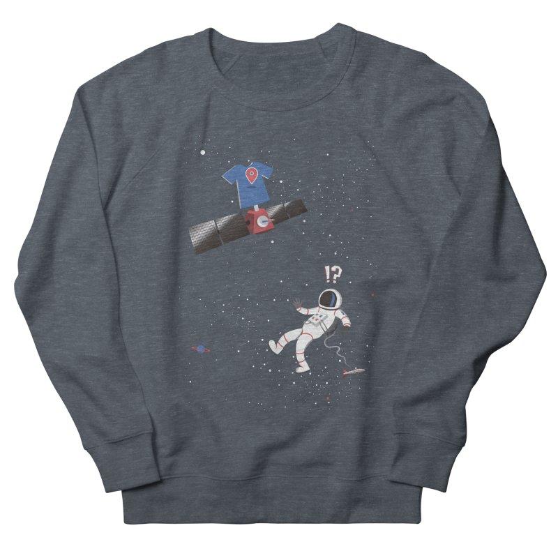 Lost in Meta Space Men's French Terry Sweatshirt by ikado's Artist Shop