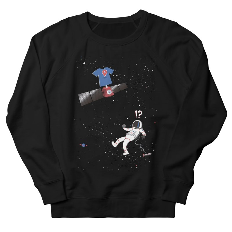 Lost in Meta Space Men's French Terry Sweatshirt by ikado's Artist Shop