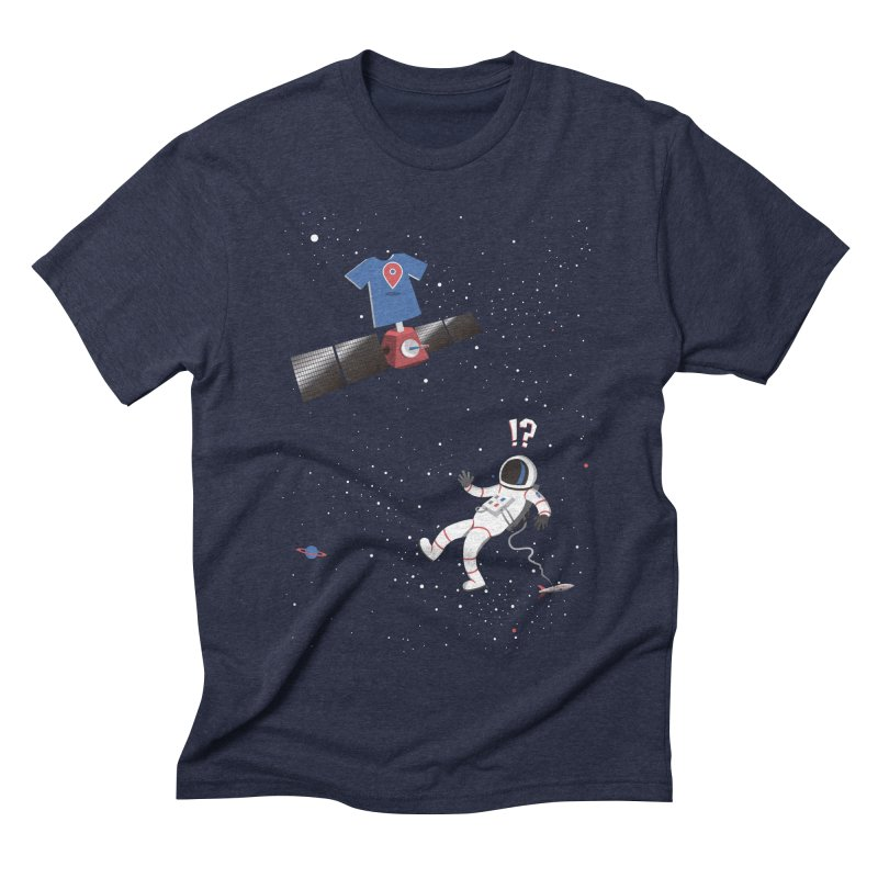 Lost in Meta Space Men's Triblend T-Shirt by ikado's Artist Shop