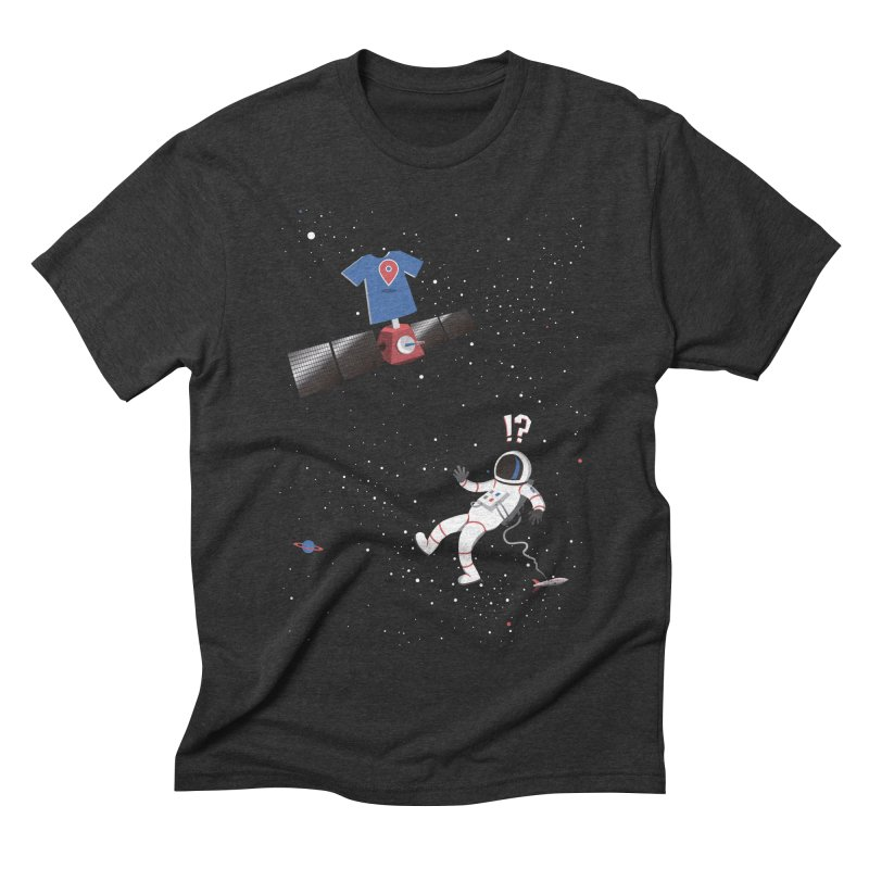 Lost in Meta Space Men's Triblend T-Shirt by ikado's Artist Shop