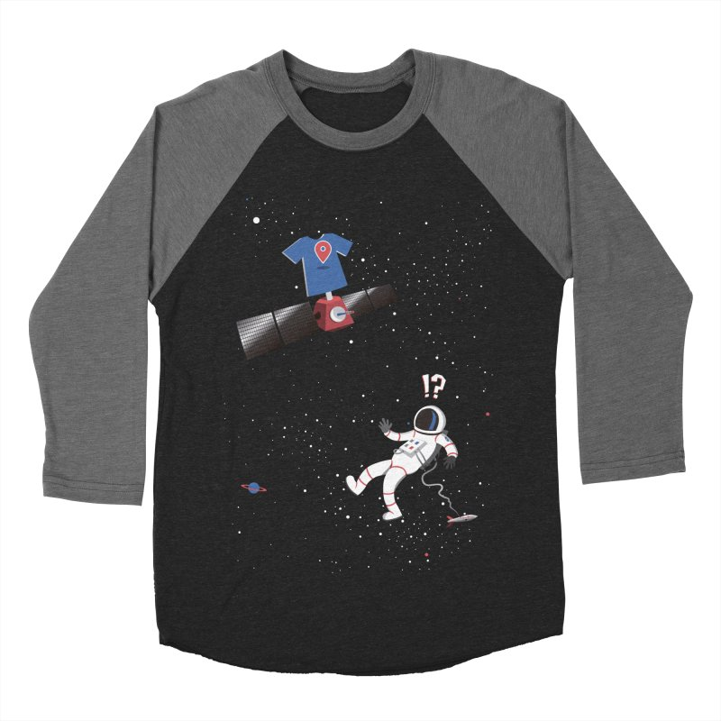 Lost in Meta Space Men's Baseball Triblend Longsleeve T-Shirt by ikado's Artist Shop