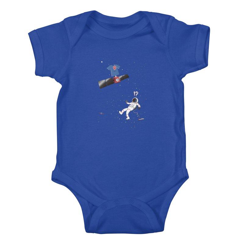Lost in Meta Space Kids Baby Bodysuit by ikado's Artist Shop