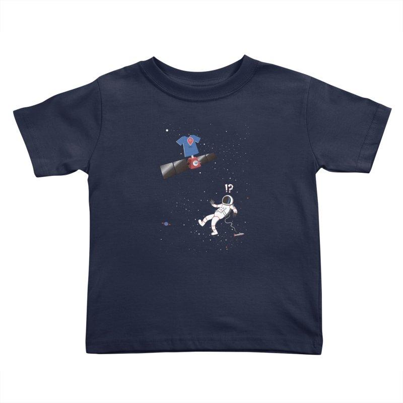 Lost in Meta Space Kids Toddler T-Shirt by ikado's Artist Shop