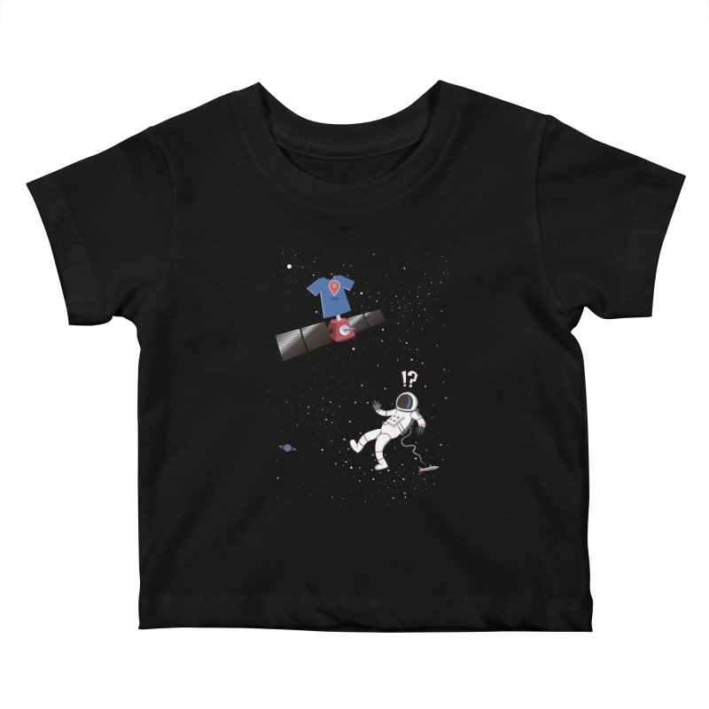 Lost in Meta Space Kids Baby T-Shirt by ikado's Artist Shop