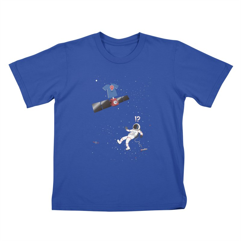 Lost in Meta Space Kids T-Shirt by ikado's Artist Shop