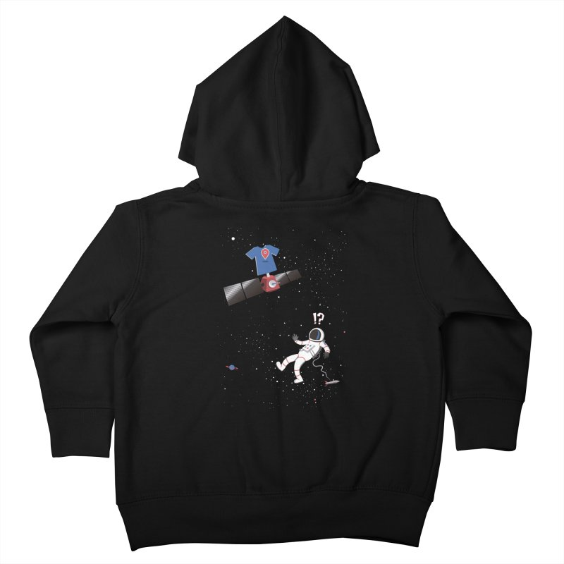 Lost in Meta Space Kids Toddler Zip-Up Hoody by ikado's Artist Shop