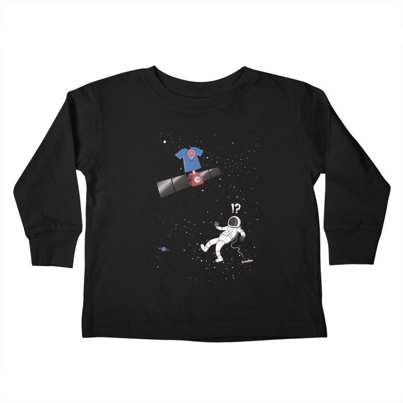 Lost in Meta Space Kids Toddler Longsleeve T-Shirt by ikado's Artist Shop