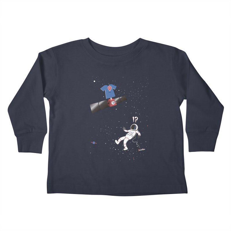 Lost in Meta Space Kids Toddler Longsleeve T-Shirt by ikado's Artist Shop