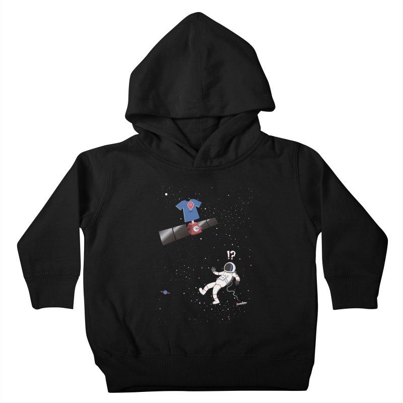Lost in Meta Space Kids Toddler Pullover Hoody by ikado's Artist Shop