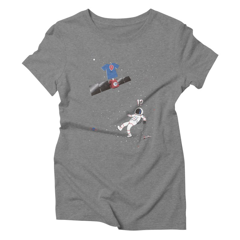 Lost in Meta Space Women's Triblend T-Shirt by ikado's Artist Shop