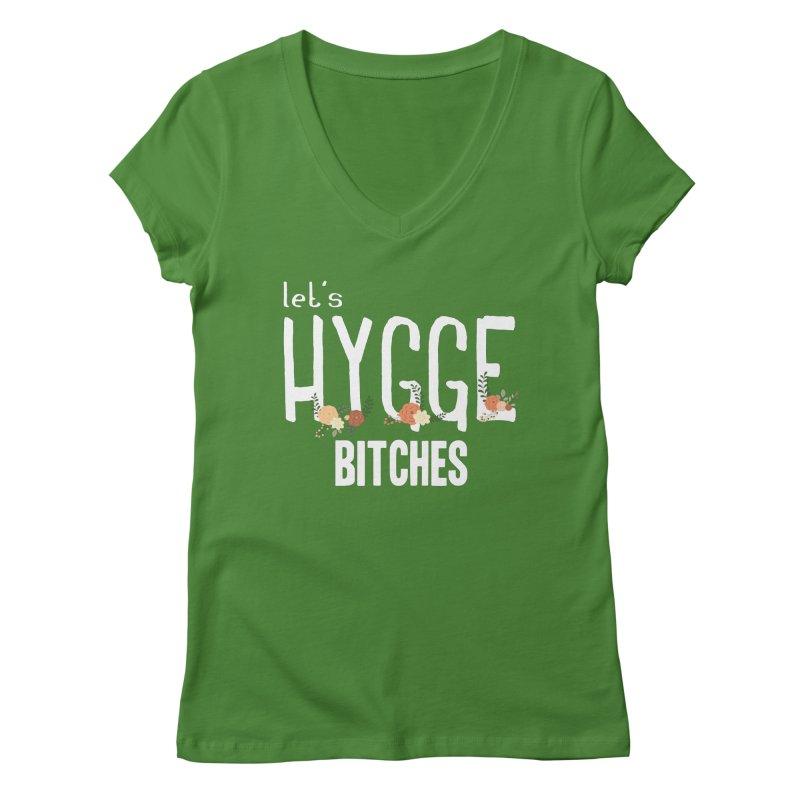 Let's Hygge bitches Women's Regular V-Neck by ikado's Artist Shop