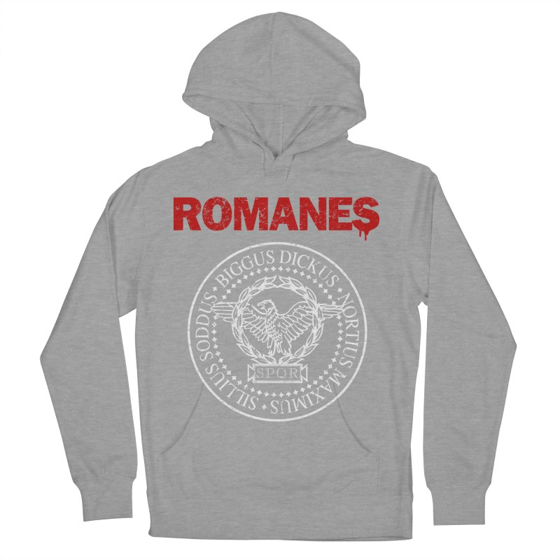 Romanes Women's French Terry Pullover Hoody by ikado's Artist Shop