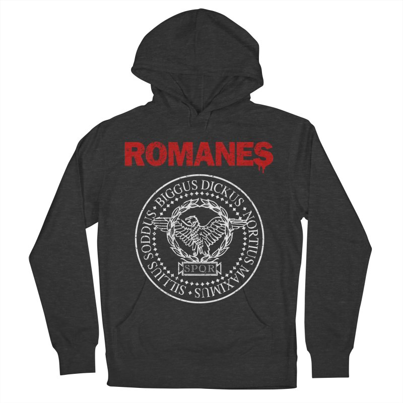 Romanes Men's French Terry Pullover Hoody by ikado's Artist Shop