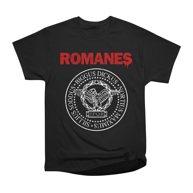 Romanes Men's Heavyweight T-Shirt by ikado's Artist Shop