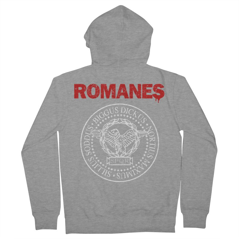 Romanes Women's French Terry Zip-Up Hoody by ikado's Artist Shop