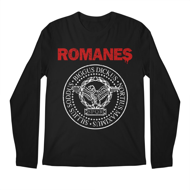 Romanes Men's Regular Longsleeve T-Shirt by ikado's Artist Shop