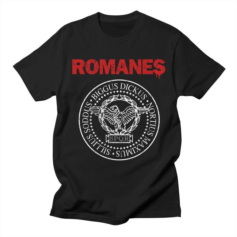 Romanes Men's Regular T-Shirt by ikado's Artist Shop