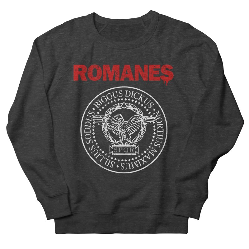 Romanes Men's French Terry Sweatshirt by ikado's Artist Shop