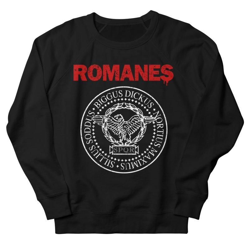 Romanes Men's French Terry Sweatshirt by ikado's Artist Shop