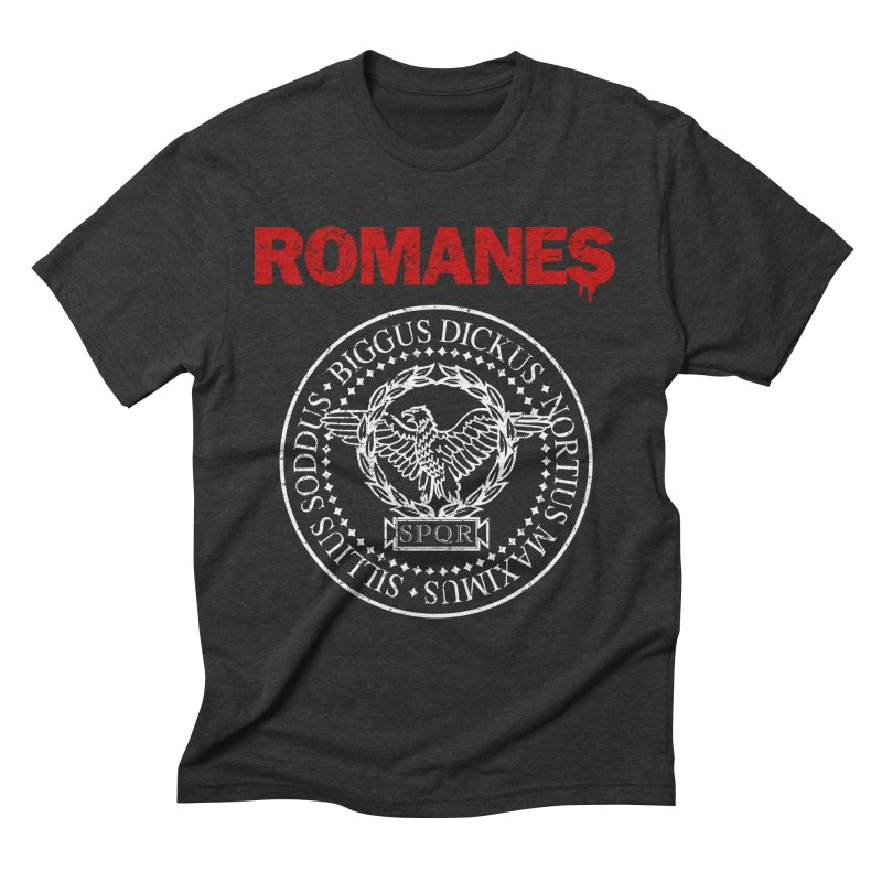Romanes Men's Triblend T-Shirt by ikado's Artist Shop