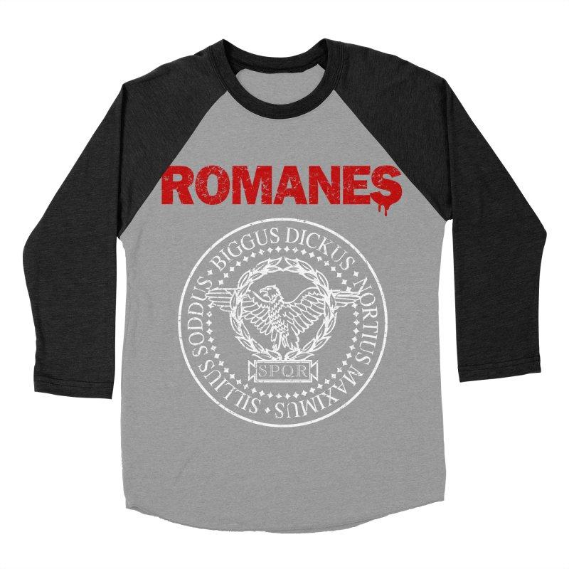 Romanes Women's Baseball Triblend Longsleeve T-Shirt by ikado's Artist Shop