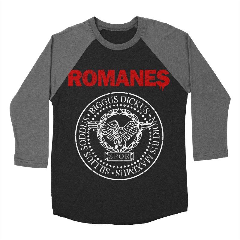 Romanes Men's Baseball Triblend Longsleeve T-Shirt by ikado's Artist Shop