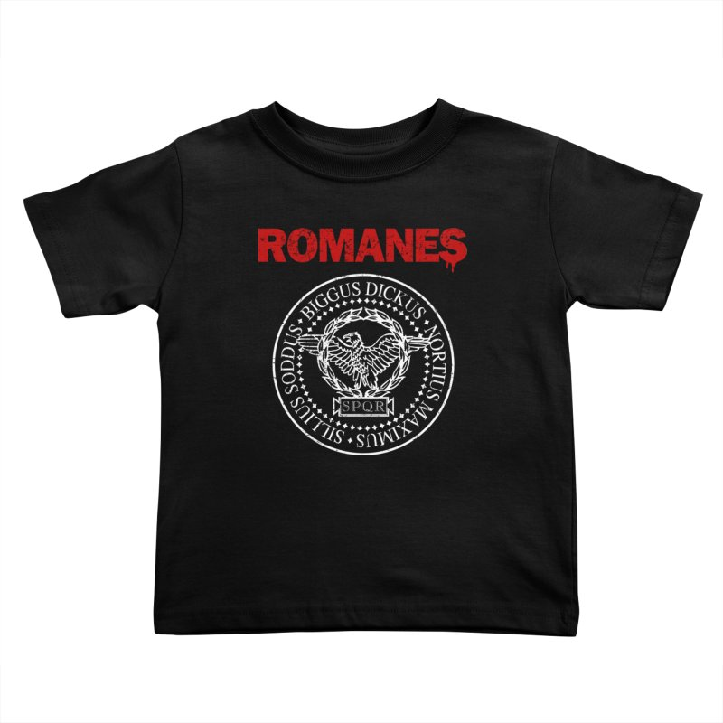 Romanes Kids Toddler T-Shirt by ikado's Artist Shop