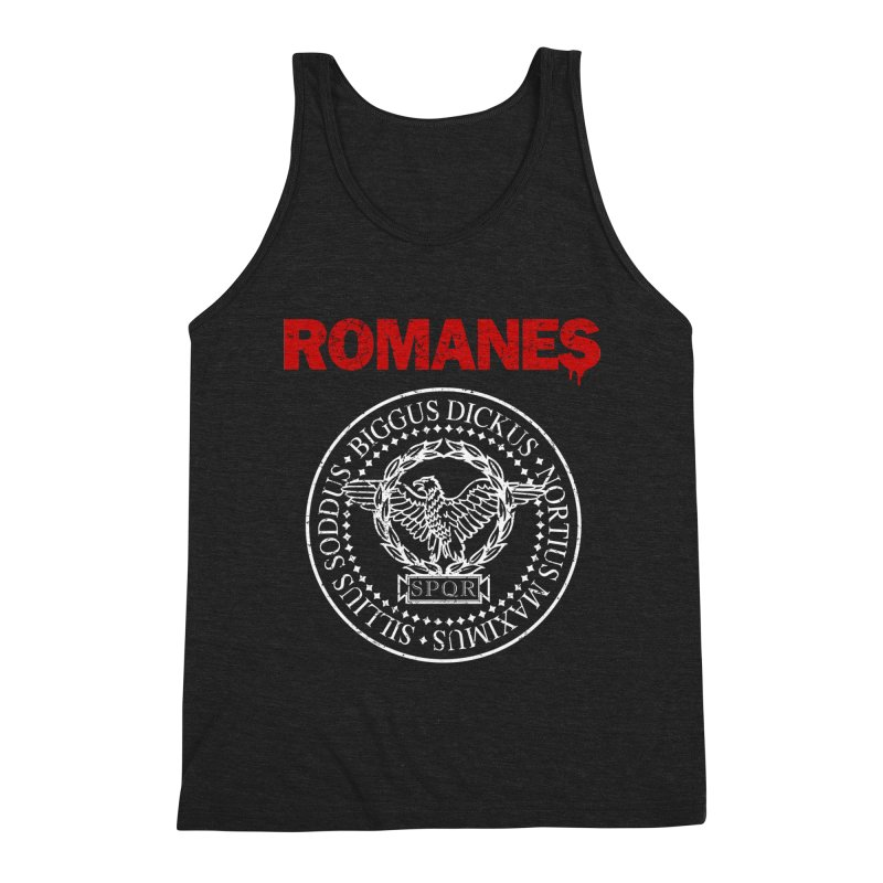 Romanes Men's Triblend Tank by ikado's Artist Shop