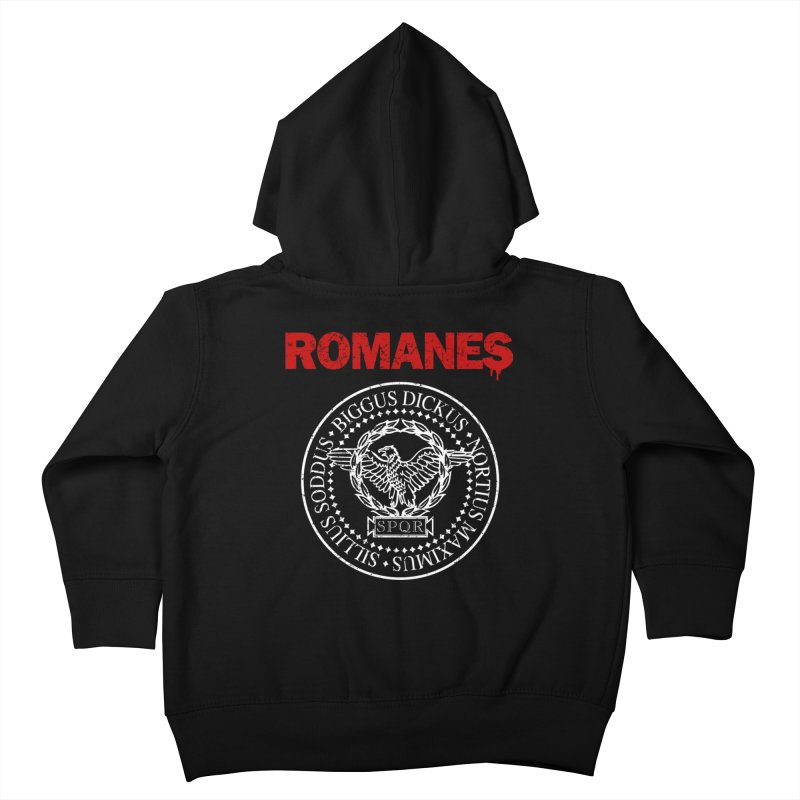 Romanes Kids Toddler Zip-Up Hoody by ikado's Artist Shop