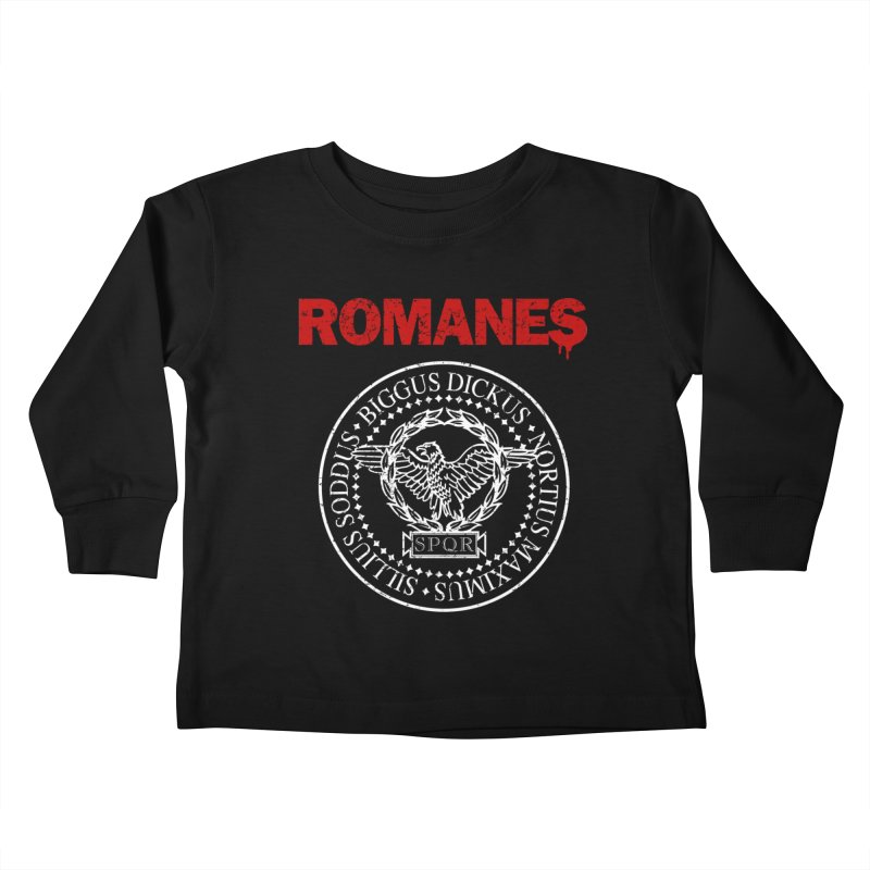 Romanes Kids Toddler Longsleeve T-Shirt by ikado's Artist Shop