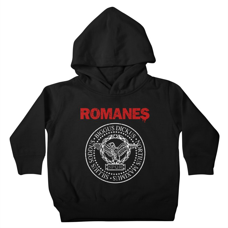 Romanes Kids Toddler Pullover Hoody by ikado's Artist Shop