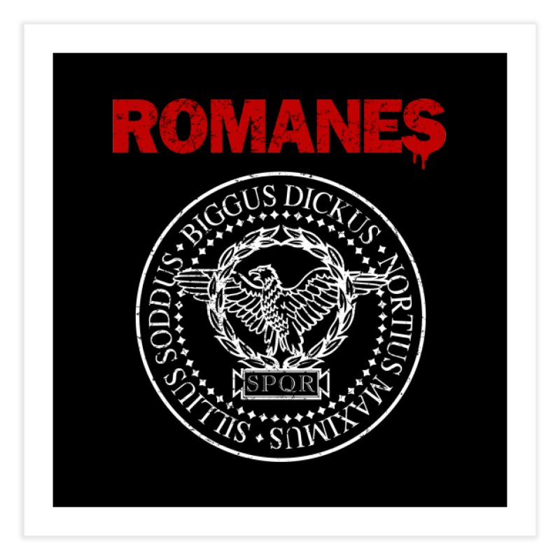 Romanes Home Fine Art Print by ikado's Artist Shop