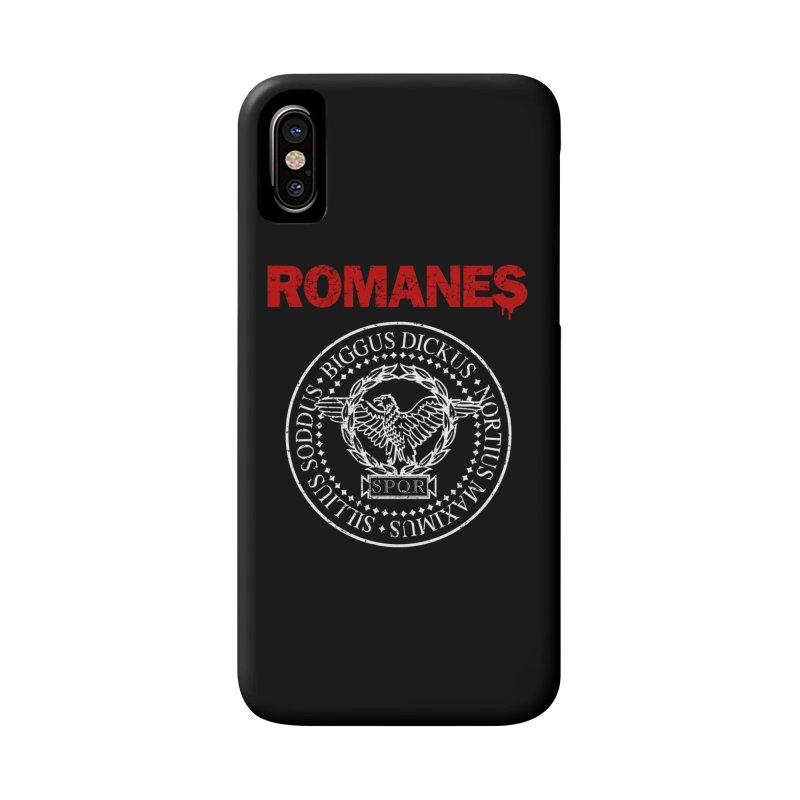 Romanes Accessories Phone Case by ikado's Artist Shop