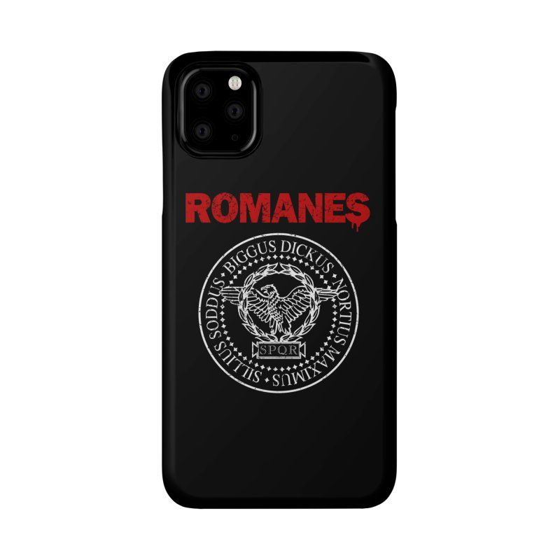 Romanes Accessories Phone Case by ikado's Artist Shop