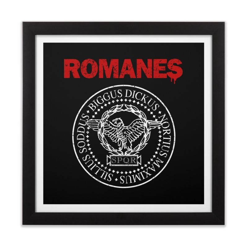 Romanes Home Framed Fine Art Print by ikado's Artist Shop