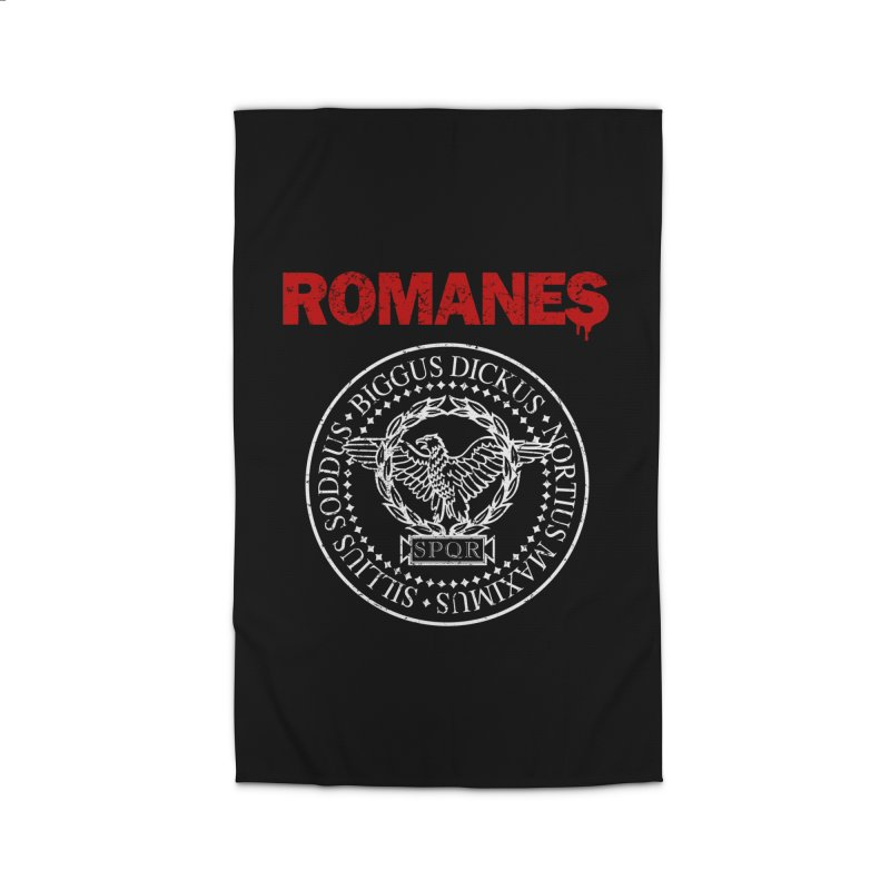 Romanes Home Rug by ikado's Artist Shop
