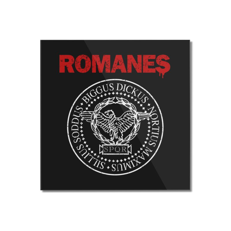 Romanes Home Mounted Acrylic Print by ikado's Artist Shop