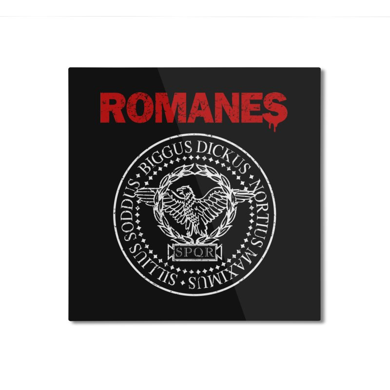 Romanes Home Mounted Aluminum Print by ikado's Artist Shop