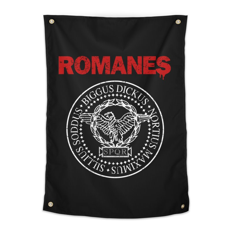 Romanes Home Tapestry by ikado's Artist Shop
