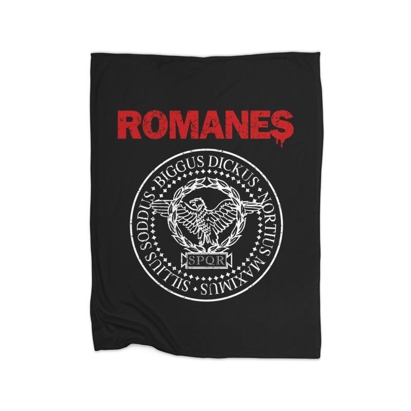 Romanes Home Blanket by ikado's Artist Shop