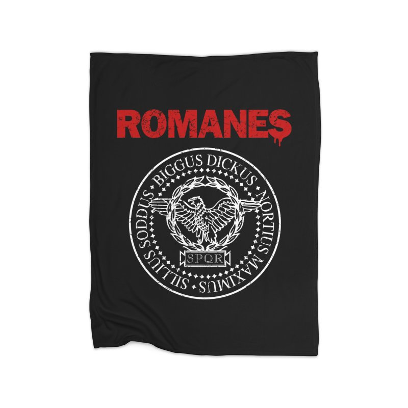 Romanes Home Fleece Blanket Blanket by ikado's Artist Shop