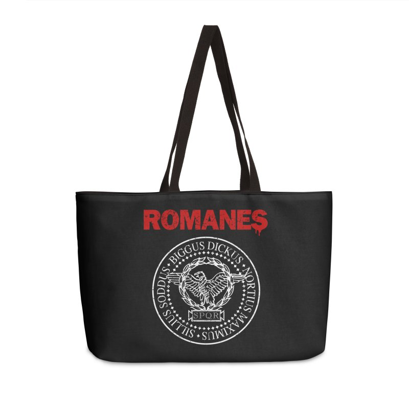 Romanes Accessories Weekender Bag Bag by ikado's Artist Shop