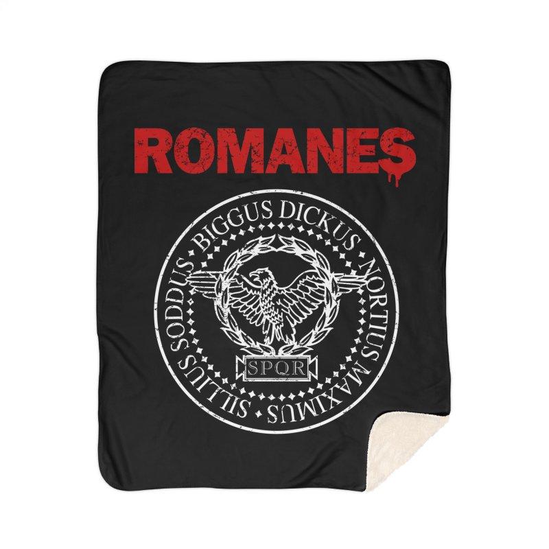 Romanes Home Sherpa Blanket Blanket by ikado's Artist Shop
