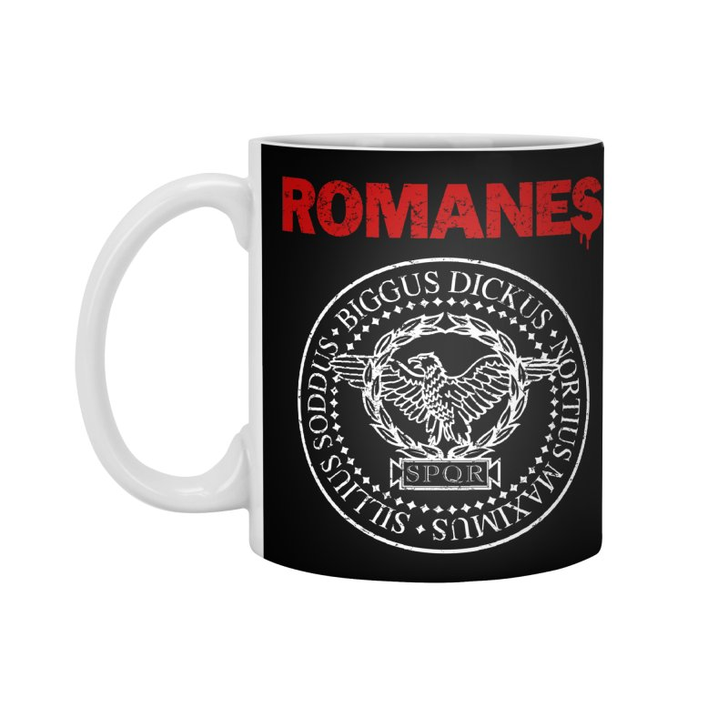 Romanes Accessories Standard Mug by ikado's Artist Shop