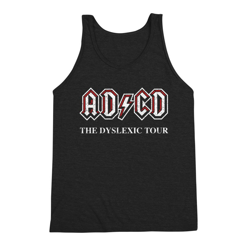 ADCD Men's Triblend Tank by ikado's Artist Shop