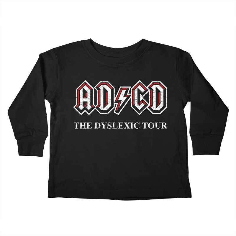 ADCD Kids Toddler Longsleeve T-Shirt by ikado's Artist Shop