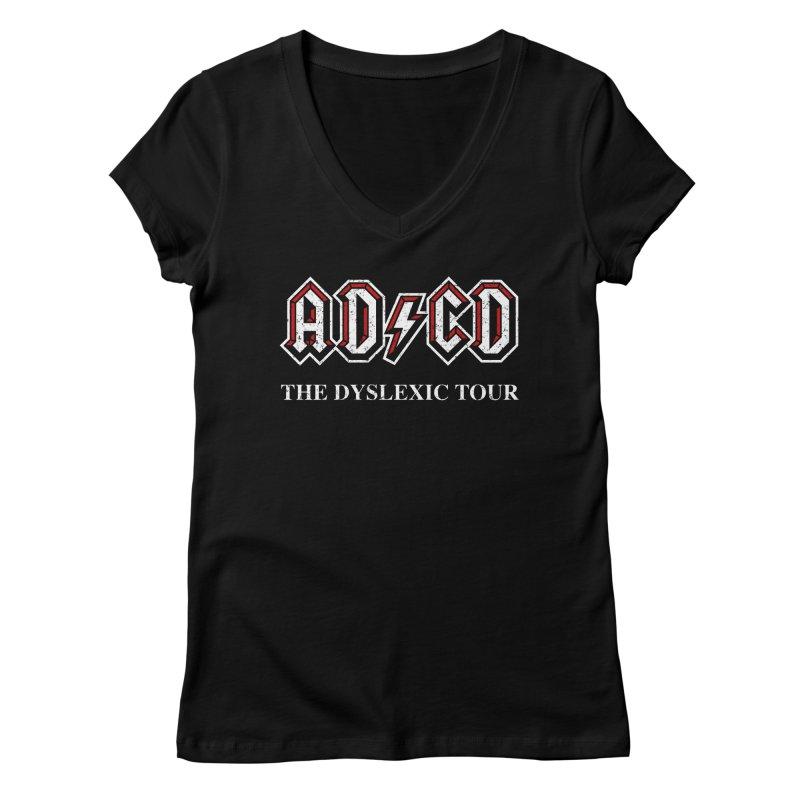 ADCD Women's V-Neck by ikado's Artist Shop