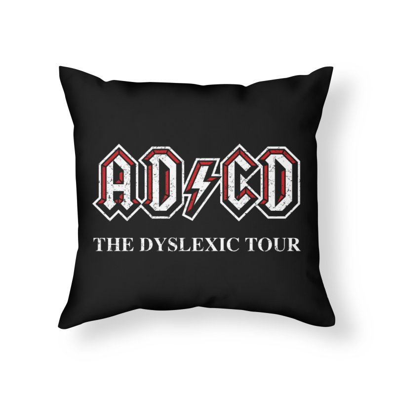 ADCD Home Throw Pillow by ikado's Artist Shop